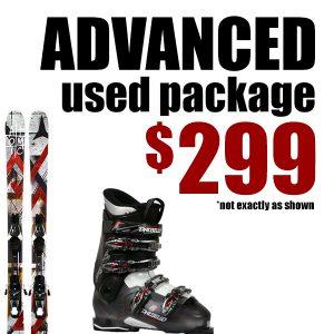 Used Ski package $299