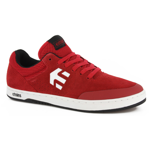 etnies trainers red
