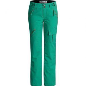 orage ski pants green