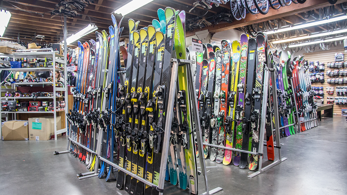 New and Used Ski Equipment