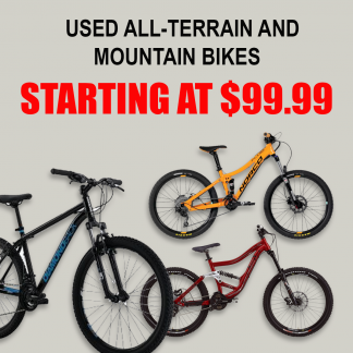 used mountain bikes