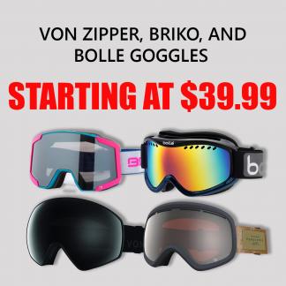 ski googles